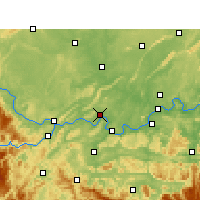 Nearby Forecast Locations - Nanxi/SCH - Carte