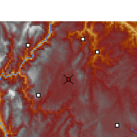 Nearby Forecast Locations - Zhaotong - Carte
