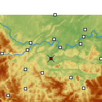 Nearby Forecast Locations - Changning - Carte