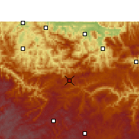 Nearby Forecast Locations - Weixin - Carte