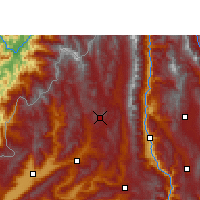 Nearby Forecast Locations - Tengchong - Carte