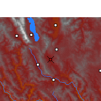 Nearby Forecast Locations - Midu - Carte