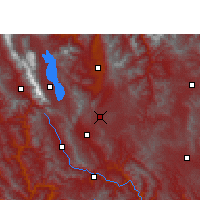 Nearby Forecast Locations - Xiangyun - Carte