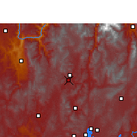Nearby Forecast Locations - Wuding - Carte