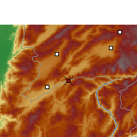 Nearby Forecast Locations - Wantingzhen - Carte