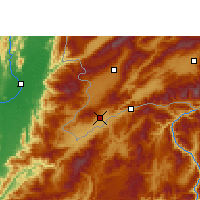 Nearby Forecast Locations - Ruili - Carte