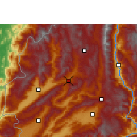 Nearby Forecast Locations - Lianghe - Carte