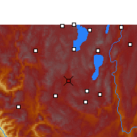 Nearby Forecast Locations - Yuxi - Carte