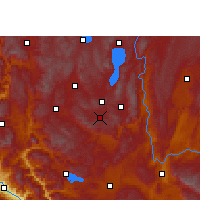 Nearby Forecast Locations - Tonghai - Carte