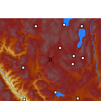 Nearby Forecast Locations - Xian - Carte