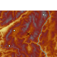 Nearby Forecast Locations - Shuangjiang - Carte