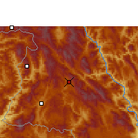 Nearby Forecast Locations - Lancang - Carte