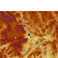 Nearby Forecast Locations - Rezuosuo - Carte