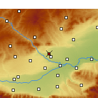 Nearby Forecast Locations - Sanyuan - Carte