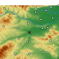 Nearby Forecast Locations - Luoyang - Carte
