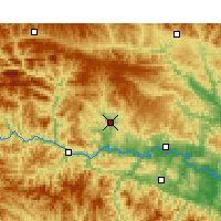 Nearby Forecast Locations - Yunxi - Carte