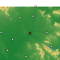 Nearby Forecast Locations - Tanghe - Carte