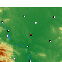 Nearby Forecast Locations - Lyanyi - Carte