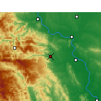 Nearby Forecast Locations - Nanzhang - Carte