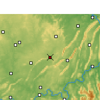 Nearby Forecast Locations - Rongchang - Carte