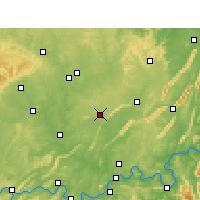 Nearby Forecast Locations - Longchang - Carte