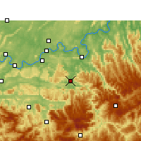 Nearby Forecast Locations - Chishui - Carte