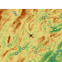 Nearby Forecast Locations - Yongshun - Carte