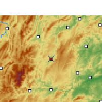 Nearby Forecast Locations - Songtao - Carte