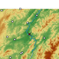 Nearby Forecast Locations - Chenxi - Carte