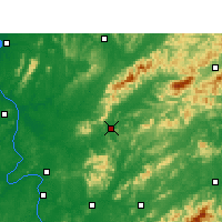 Nearby Forecast Locations - Liuyang - Carte