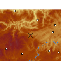Nearby Forecast Locations - Jinsha - Carte