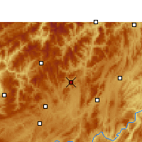 Nearby Forecast Locations - Suiyang - Carte