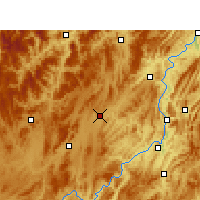 Nearby Forecast Locations - Fenggang - Carte
