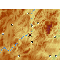 Nearby Forecast Locations - Kuangtou - Carte