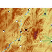 Nearby Forecast Locations - Yinjiang - Carte