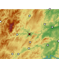 Nearby Forecast Locations - Tongren - Carte