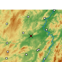 Nearby Forecast Locations - Mayang - Carte