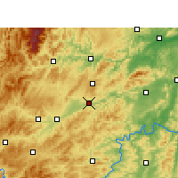 Nearby Forecast Locations - Xinhuang - Carte