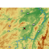 Nearby Forecast Locations - Zhijiang - Carte