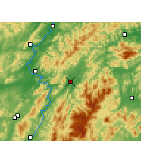Nearby Forecast Locations - Xupu - Carte