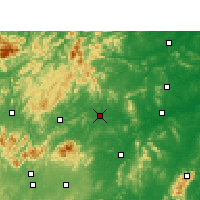 Nearby Forecast Locations - Loudi - Carte