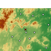 Nearby Forecast Locations - Xian de Xinshao - Carte