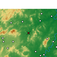 Nearby Forecast Locations - Shuangfeng - Carte