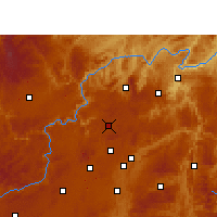 Nearby Forecast Locations - Xiuwen - Carte