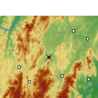Nearby Forecast Locations - Wugang - Carte