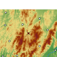 Nearby Forecast Locations - Chengbu - Carte