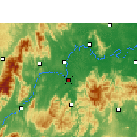 Nearby Forecast Locations - Lingling - Carte