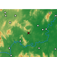 Nearby Forecast Locations - Qidong - Carte