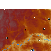 Nearby Forecast Locations - Xingyi - Carte