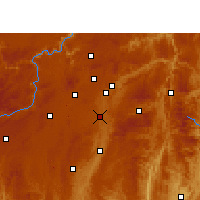 Nearby Forecast Locations - Huaxi - Carte